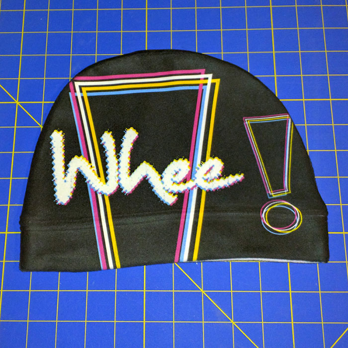 Making a Whee! Design Beanie Hat Gallery