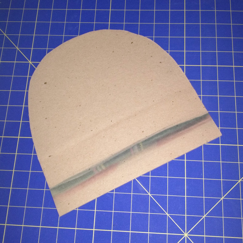 Cardboard Insert int the Shape of a Beanie